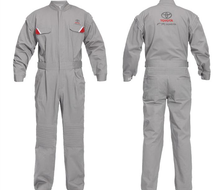 秋冬季工作服 纯棉焊工工作服 连体工作服