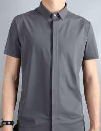 北京休闲衬衫 长袖衬衫 职业装北京定做衬衫