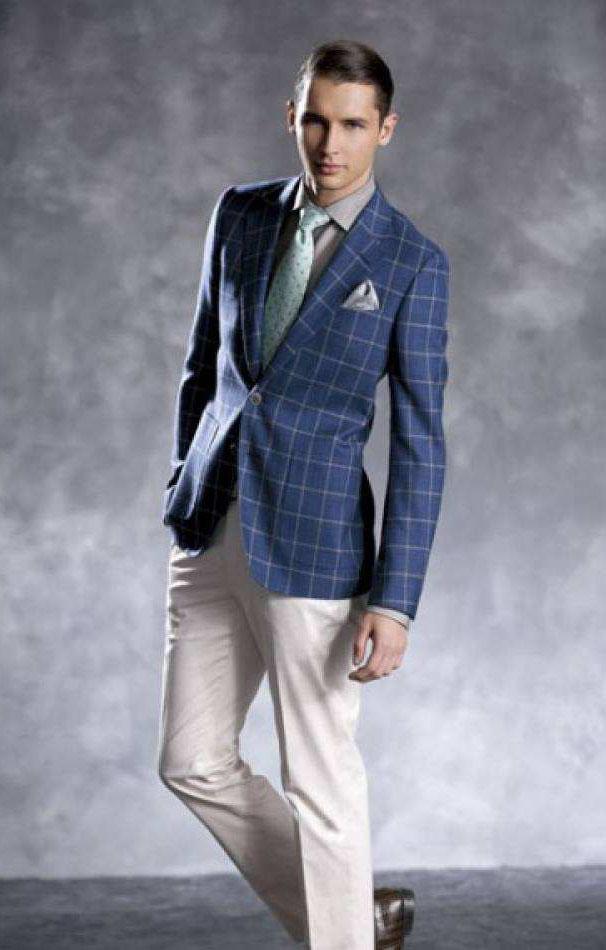 男士应该怎样定制西装,挑选西裤又有哪些注意事项呢