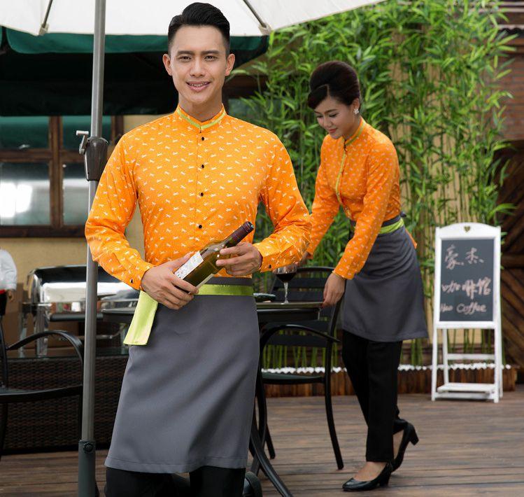 餐厅工作服的种类以及定制的注意事项